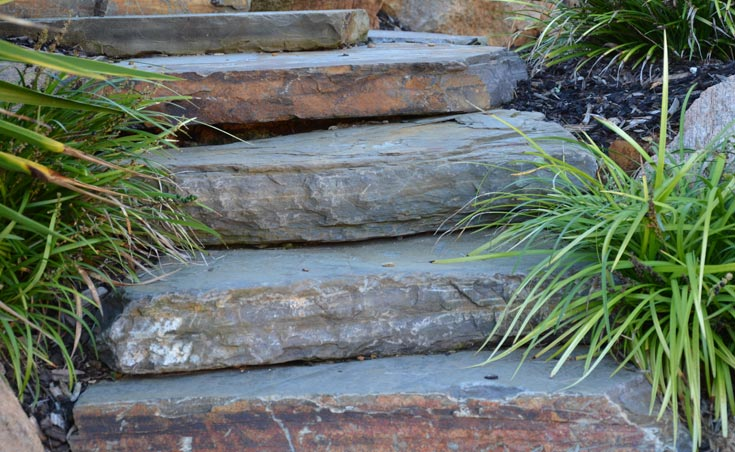 Bluestone slabs