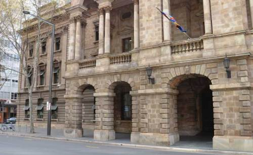 Upgrade Of Footpath & Entrance To Adelaide City Council Town Hall