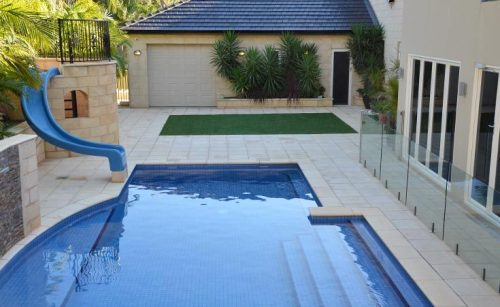 Back Garden Landscape Design Salisbury Heights