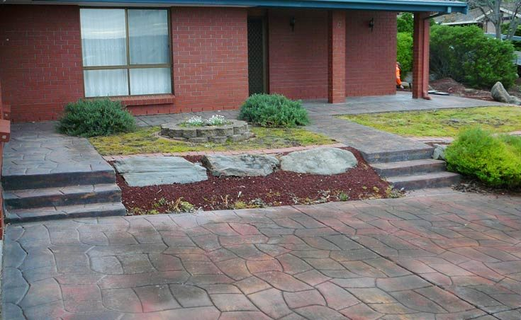 Landscaping Makeover Wynn Vale Side Before