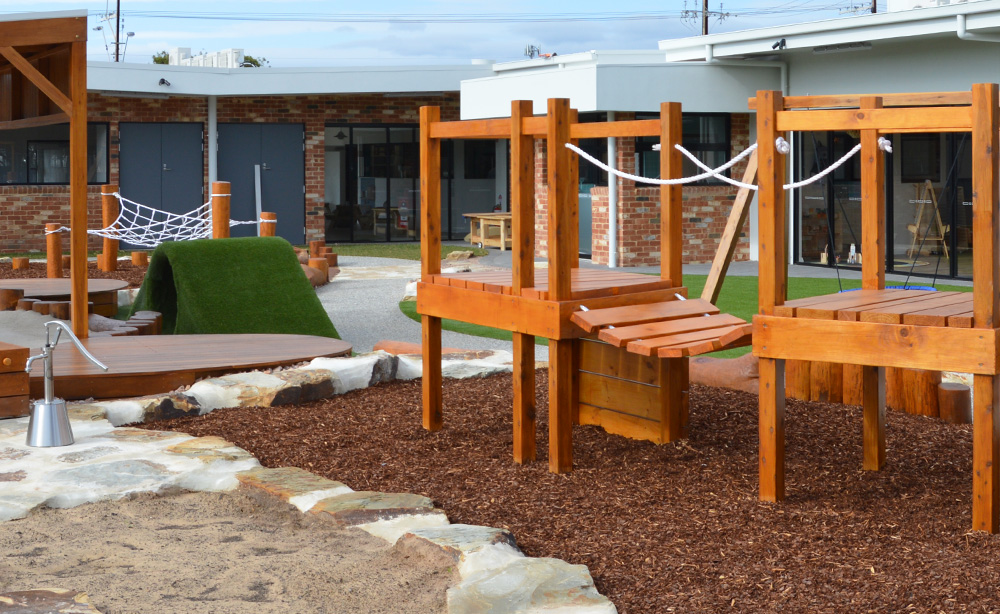 Child Care Centre Landscaping | Fort Playground