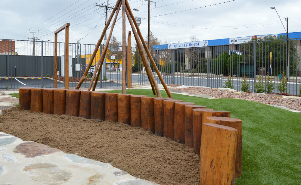 Child Care Centre Landscaping | Sandpit