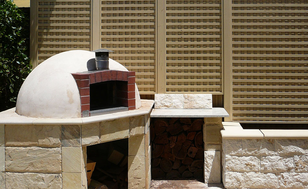 Garden Feature Area | Custom Made Pizza Ovens