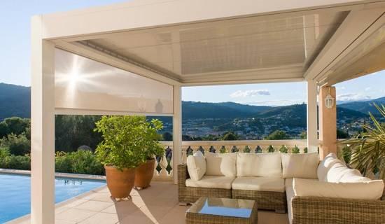 Prgolas bioclimticas La guinda a tu terraza o jardn