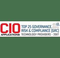 CIO Applications Top 25 GRC Technology Providers 2017