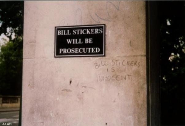 Bill Stickers