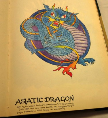 Asiatic dragon.