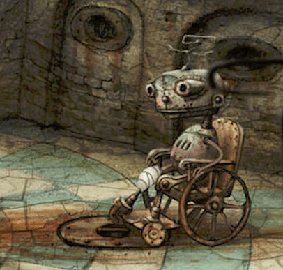 machinarium weelchair guy