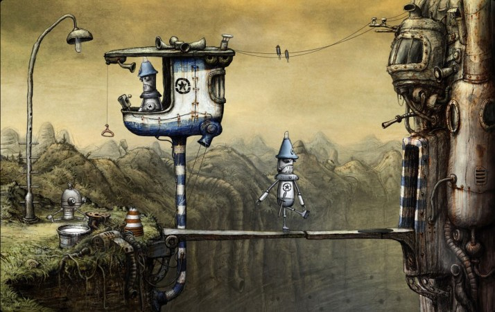 machinarium the police control post