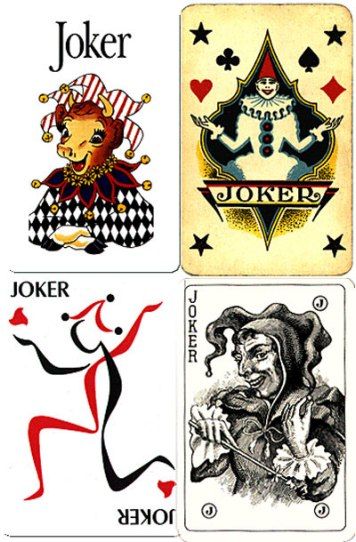 Some extraordinarily curious jokers