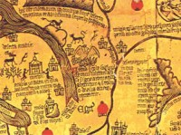 The Borgia map (c. 1430)