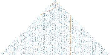 Klauber prime triangle