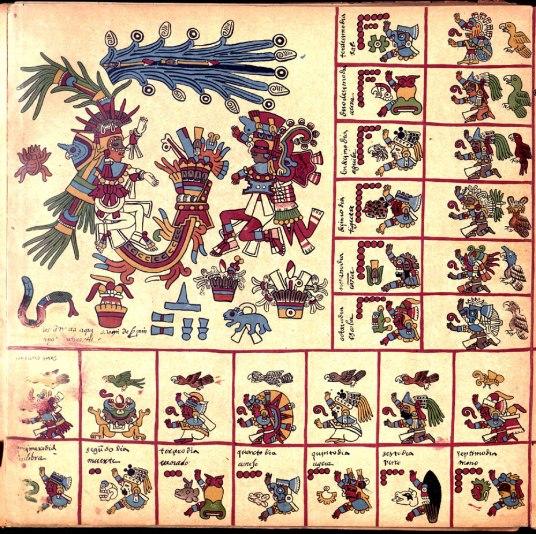 Codex Borbonicus 09