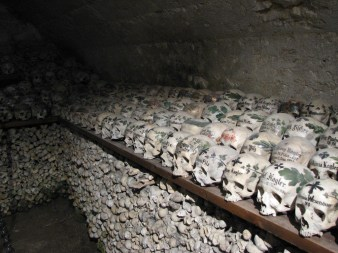 Hallstatt skulls and bones - Photo by Mihnea Stanciu