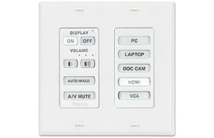 MediaLink Plus Controller - Decora Wallplate (MLC Plus 84 D)-visualtech
