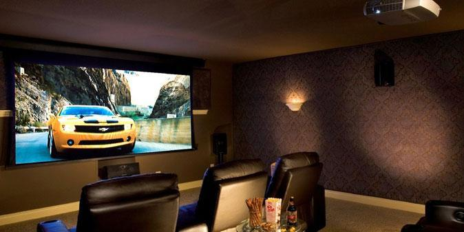 Setting up your Home Theatre System with Projector Screen