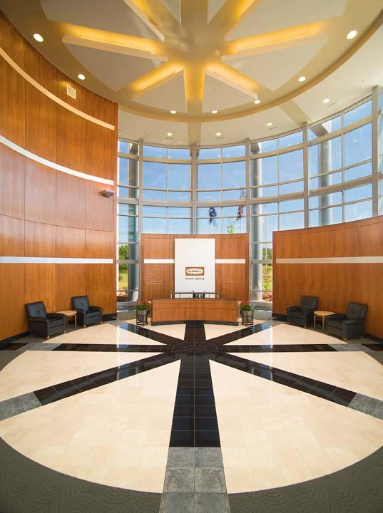hubbell lighting headquarters visual
