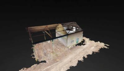 Boerenschuur 3D Model