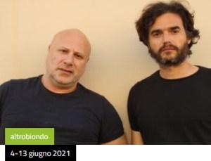 Vincenzo Pirrotta e Paolo Briguglia al teatro Biondi di Palermo