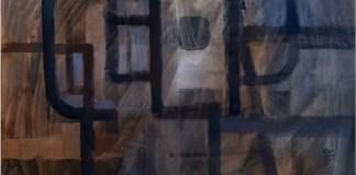 Luigi Pericle Creation Penetrating InertiaVI 1964tecnicamista su tela