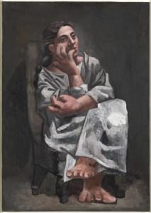 Pablo Picasso Donna seduta 1920