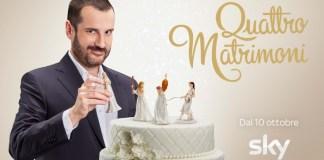 Quattro matrimoni su Sky