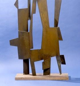 Pietro Consagra Colloquio 1962 bronzo