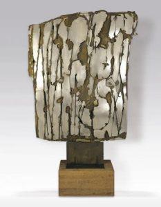 Pietro Consagra New York City 1962 bronzo e acciao