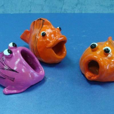 ribe - keramika