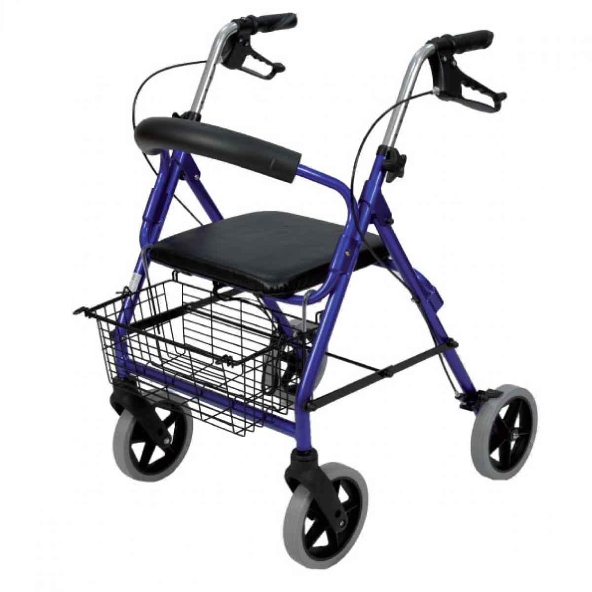 Deambulatore per disabili pieghevole con sedile RO2  Vita
