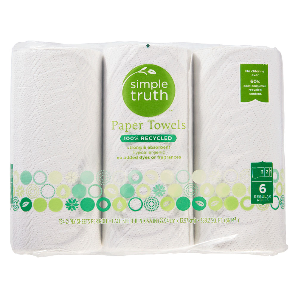 simple truth paper towels
