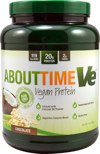 About Time Vegan Protein Chocolate -- 2 lbs - Vitacost