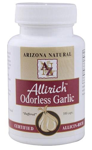 Arizona Natural Products Allirich™ Odorless Garlic -- 100 Capsules - Vitacost
