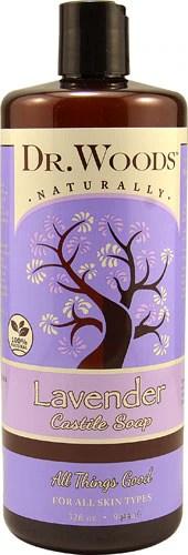 Dr. Woods Lavender Castile Soap