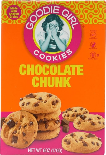 Goodie Girl Gluten Free Cookies Chocolate Chunk -- 6 oz - Vitacost