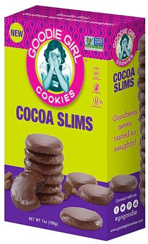 Goodie Girl Gluten Free Cookies Cocoa Slims -- 7 oz - Vitacost