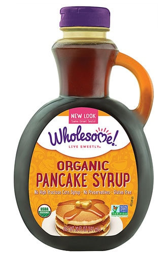 Wholesome Sweeteners Organic Pancake Syrup Original 20