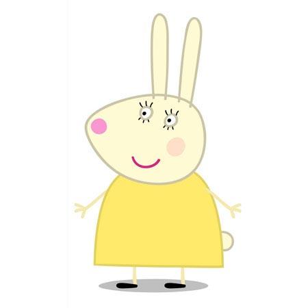 signora coniglio peppa pig