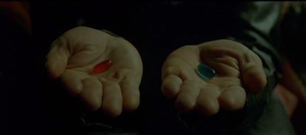 che cos'è la felicità pillola rossa