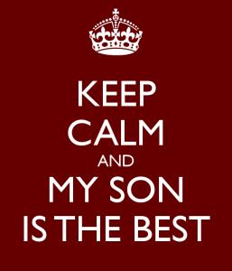 mio figlio è il migliore