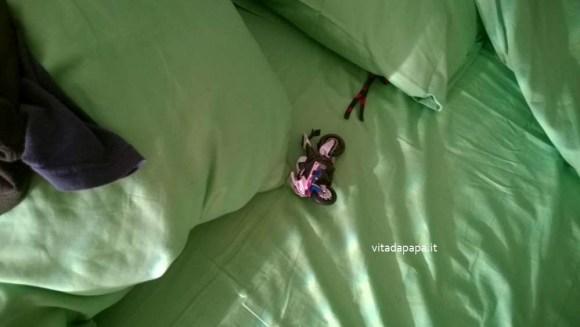 moto a letto
