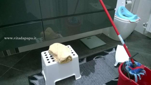 bagno allagato