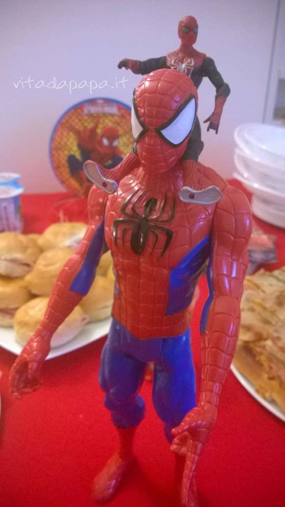 Festa tema Spiderman regalo