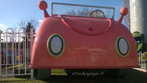 La macchina di Papà Pig