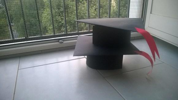 cappello fine asilo nido