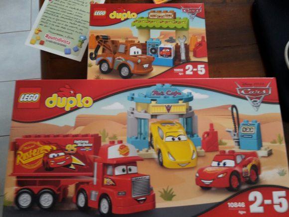 Cars 3 Lego Duplo