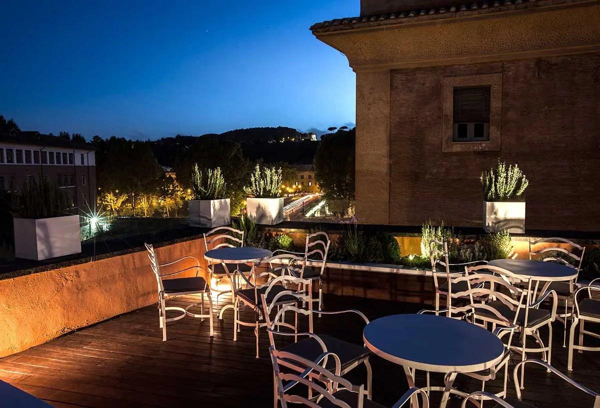 10 migliori locali con terrazze di Roma  Sapori Nuovi