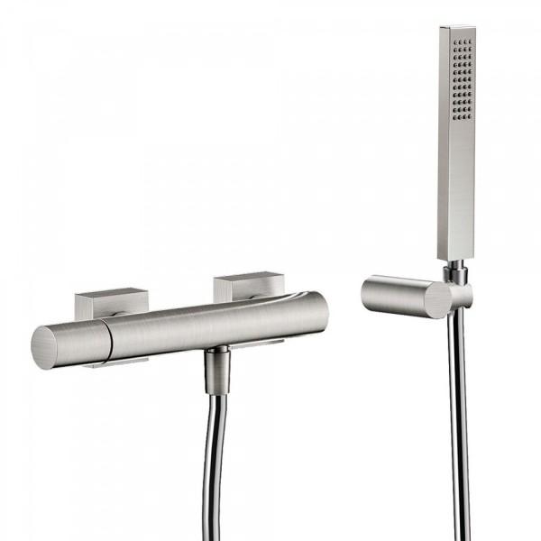 mitigeur douche douchette a main anticalcaire avec support orientable et flexible tres 21116701ac