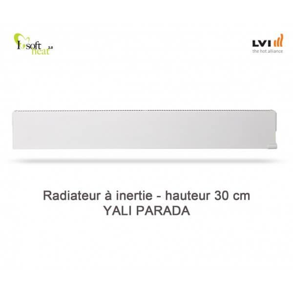 Radiateur Electrique Lvi Yali Parada Plinthe 2000w Inertie Fluide Haut 300 3703202 Vita Habitat
