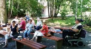 Singen im August 2020 im Stadtpark